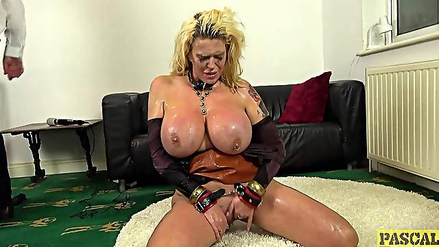 Chubby ass mature plays submissive in real torture porn  XXX maledom